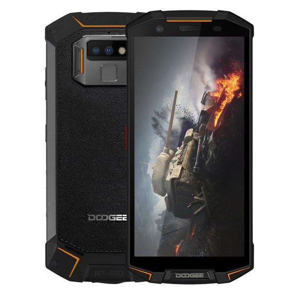 Прочный телефон DOOGEE S70 6 ГБ + 64 ГБ MIL-STD-810G Идентификатор отпечатка пальца 5.99-дюймовый Android 8.1 MTK Helio P23 Octa Core до 2,5 ГГц Сеть: 4G