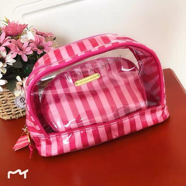 New arrival VS 2-set pvc cosmetic bag/zip lock travel pvc bag/beauty pvc cosmetic bag with the best design