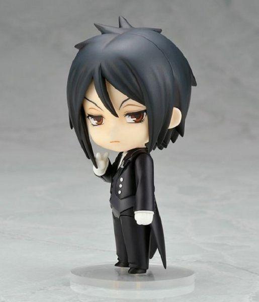 Actionfigur Kuroshitsuji Black Butler Sebastian Michaelis 10 cm PVC Geschenk Spielzeug Puppen Sammler Nendoroid Modell Anime