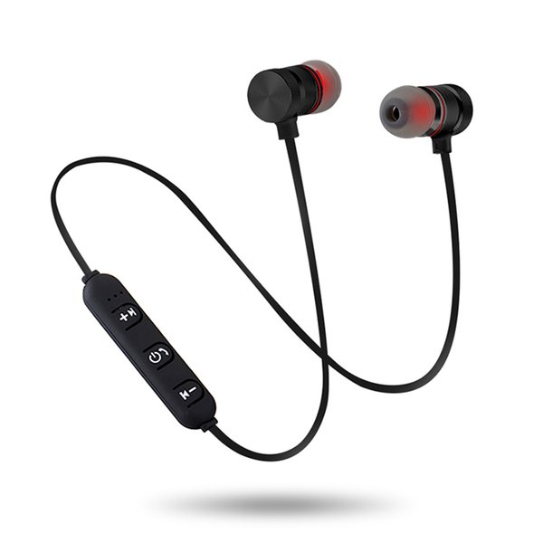 Newest Bluetooth Wireless Headphones In-Ear Noise Reduction Earphone with Microphone Sweatproof Stereo Bluetooth Headset For Iphone Samsung