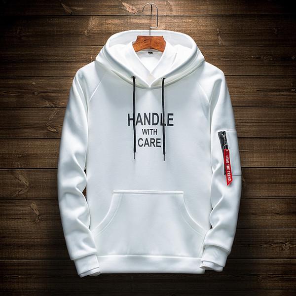 Fashion Designer Hoodies Für Männer Koreanische Version Casual Jugend Sweatshirts Langarm Mantel Kleidung Briefe Drucken Großhandel