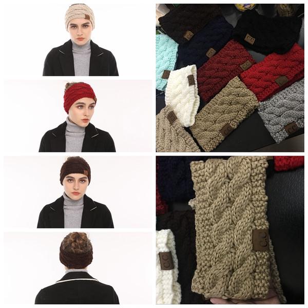 Großhandel Cc Häkeln Stirnband 10 Farben Wolle Häkeln Stirnband ...