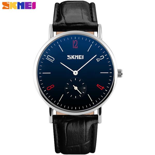 SKMEI china Brand lover's watches fashion casual quartz watch luxury Wristwatches 30m waterproof relogio masculino relojes mujer