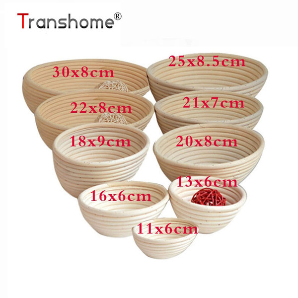 Round Oval Long Banneton Brorm Bread Proofing Proving Bakeware Rattan Basket Bread Baking Pastry Tools Kitchen Accessories
