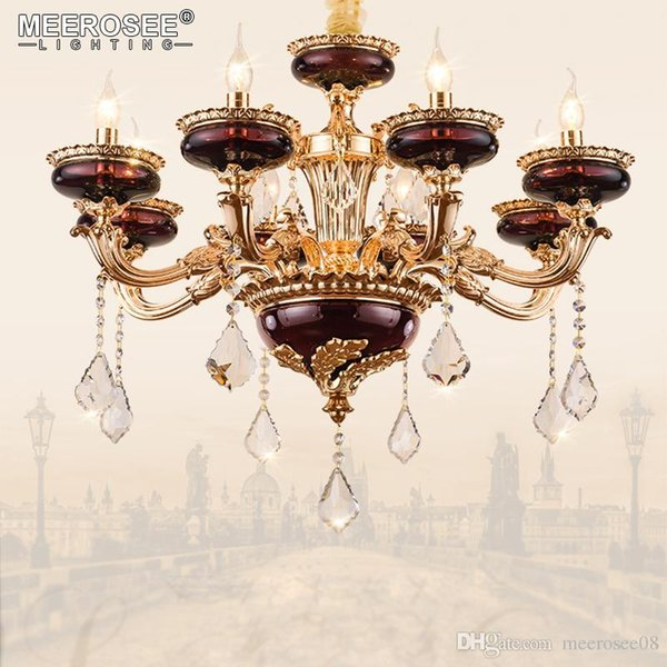 Vintage Crystal Chandelier Light fitting Hanging Lamp for Restaurant Kitchen Dining room Luminaire Lustres Lighting