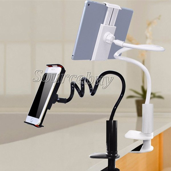 360 degree Flexible Arm Table Pad Holder Stand Long Lazy People Bed Desktop Tablet Mount Creative Bracket For Huaiwei Xiaomi Pad ipad Mini