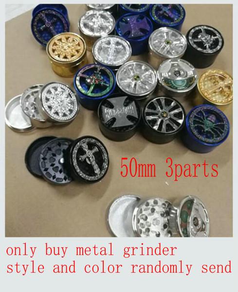 sadece satın: 50mm 3parts metal değirmeni