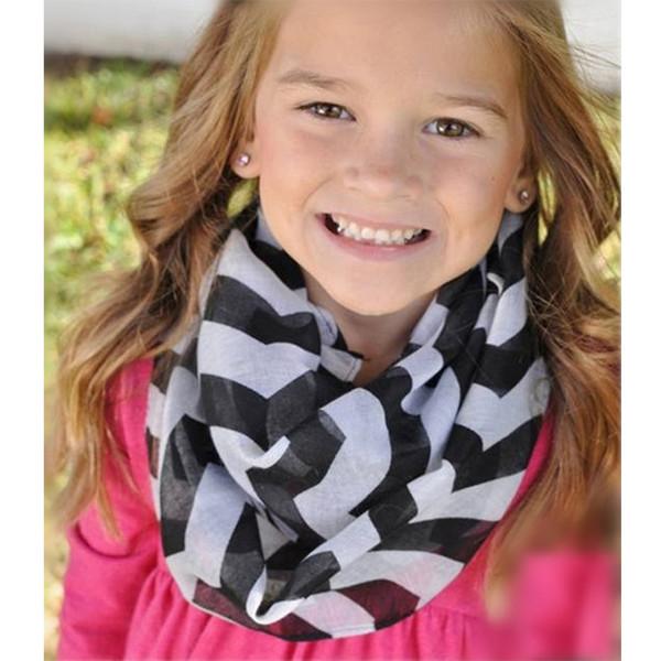Seide Kinder Mädchen Schals Zubehör Baumwolle Baby Mädchen Jungen Schal O Ring Kinder Halsbänder Schals für Kleinkind Schal Kinder