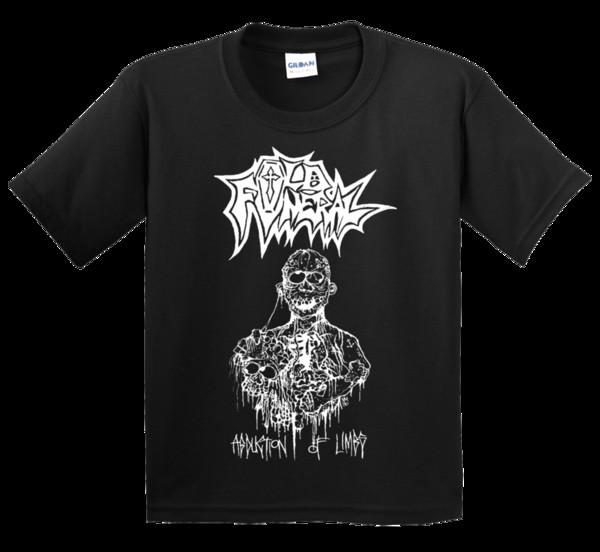 alte Beerdigung Entführung von Gliedmaßen T Shirt schwarz Metall Tod Chaos Beherit 1349