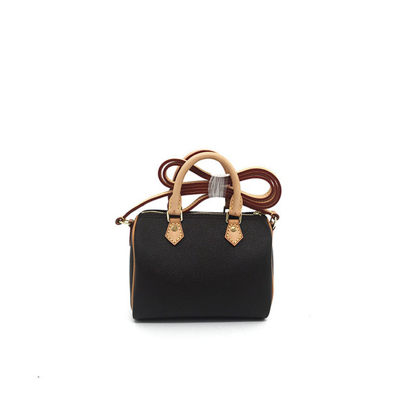 Wholesale Canvas oxidation leather lady brand messenger bag phone purse fashion satchel nano pillow shoulder bag handbag