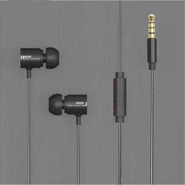 Earphones for iphone Stereo In Ear Earphone with Mic XBS Bass Earpieces HiFi Earbuds Dj Headset 100mm Speaker Music