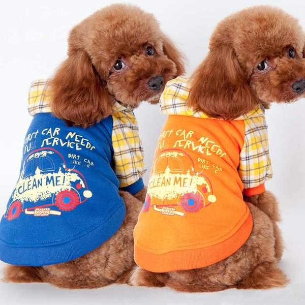 Orange Fashion clothes for dogs yorkies blue dog clothes chihuahua winter Jacket for dogs small pets clothing dog coat jacketsts Clothing