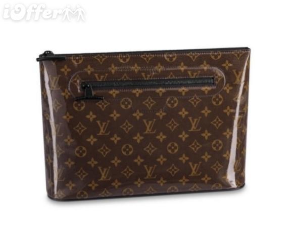 M63271 Pochette Cosmos Men Canvas Clutch Hand Bag Purse Wallet Purse Belt Bags Mini Bags Clutches Exotics