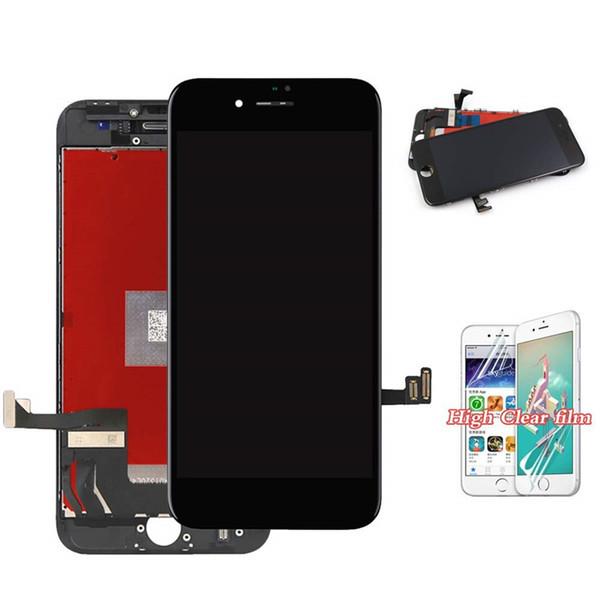 Bildschirm Ersatz Weiß Schwarz für iPhone 8 Plus 5,5 Zoll 3D Touch LCD Bildschirm Digitizer Ersatz Rahmen Display Assembly