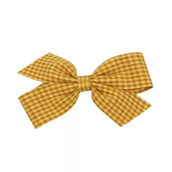 Korean Version Of Cute Hair Decoration Personality Small Fresh Hairpin Sweet Cloth Art Bowknot Cross Hairpin Accessories