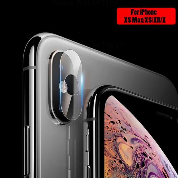 Für Iphone XS XS MAX Zurück Kamera Objektiv Gehärtetem Glas displayschutzfolie für Iphone XR kamera len displayschutzfolie mit retail-paket