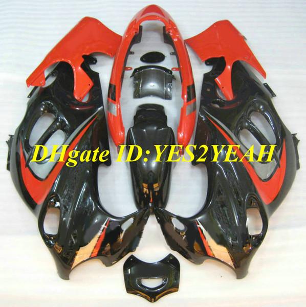 Motorcycle Fairings kit For SUZUKI KATANA GSXF600 GSX600F 2003 2006 GSXF 600 03 05 06 GSX 600F Hot red black Fairing set+gifts SY13
