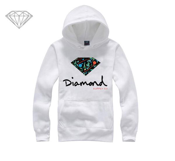 Diamond Supply hoodie for men free shipping diamonds hoodies hip hop brand new 2018 sweatshirt men's clothes pullover M5
