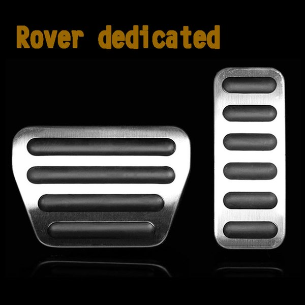 High Quality Accelerator Brake Foot Rest Pedal Pads For Range Rover VOGUE/SPORT 2013-2016 AT Car Styling Fuel Gas Pedal Pad