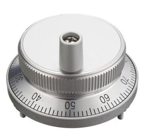 Kit de manija de volante de pulso CNC 5V Máquina de coser de generador de pulso manual 60mm Codificador rotativo Resolución electrónica CPR 25,100