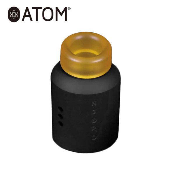 Orijinal ATOM Njord RDA Tankı Atomizer ile 24mm Üçlü Açılı Hava Akış Sistemi Tek Bobin RDA E-Sigara Atomizer