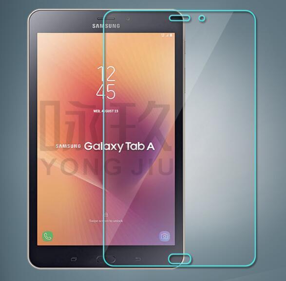 Com pacote de varejo protetores de tela de vidro temperado para samsung galaxy tab um 10.5 polegadas t590 t595 tab s4 10.5