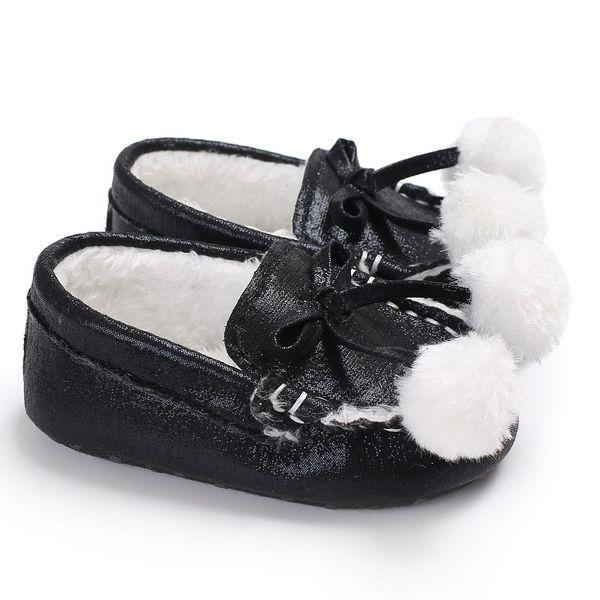 1 Pair Baby Boys Girls Cute Winter Shoes Warm Soft Sole First Walker Crib Babe Pre-walker Newborn Infant Toddler Shoe
