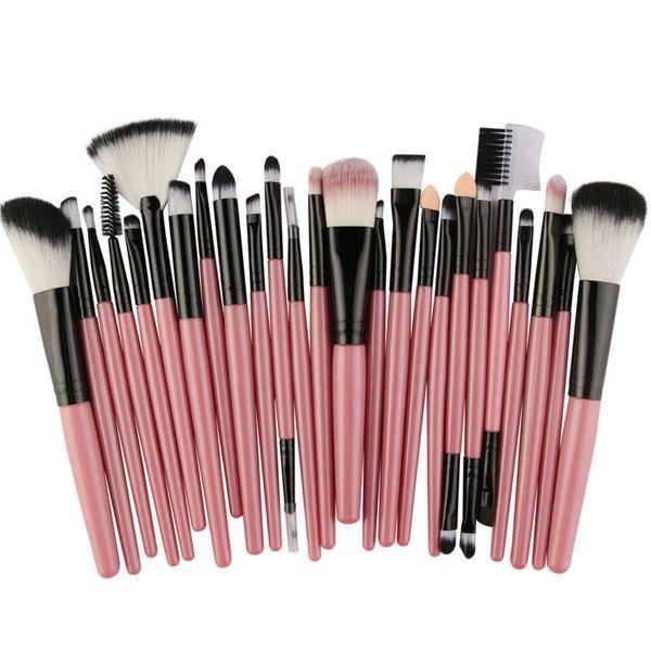 #7 pink black