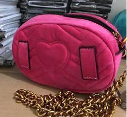 Новый дизайнер имя бархат талии сумки женщины мужчины письмо сумки на ремне сумка женщины сумки Сумки fuunyt пакет Size18X12X6CM