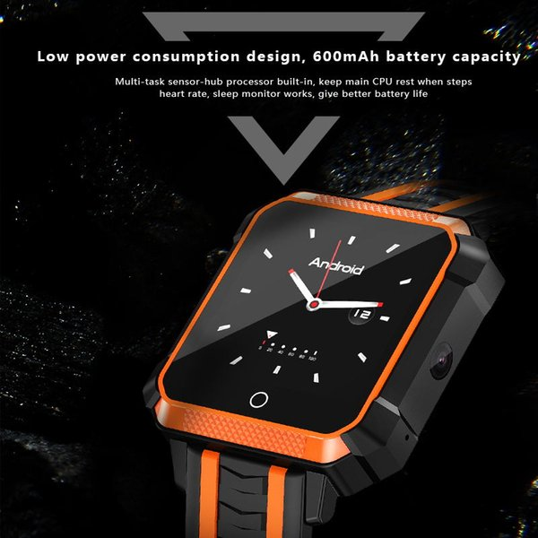 4G Netzwerke WIFI Bluetooth IP 68 wasserdichter GPS-Verfolger Sport multifunktionale neue Mode Smart Watch