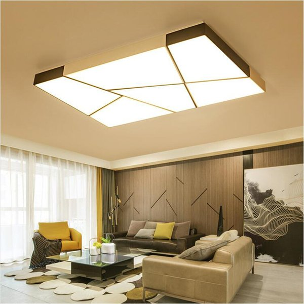 Fuloc Modern Led Ceiling Lights For Living Room Bedroom Kitchen
