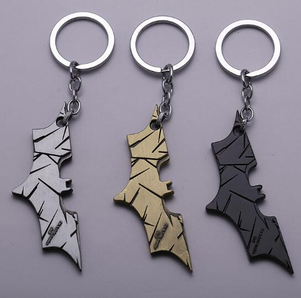 2018 New Fashion Avenger Union Batman keychains For Bag Key Holder Charm Hanging pendant Car Key Chains Key Ring Women & Men