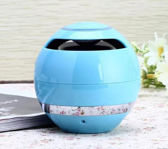 Magic Ball Wireless Portable Bluetooth Speakers with Subwoofer Mini Round Hi-Fi Speaker Indoor Outdoor for iPhone iPad DHL FREE