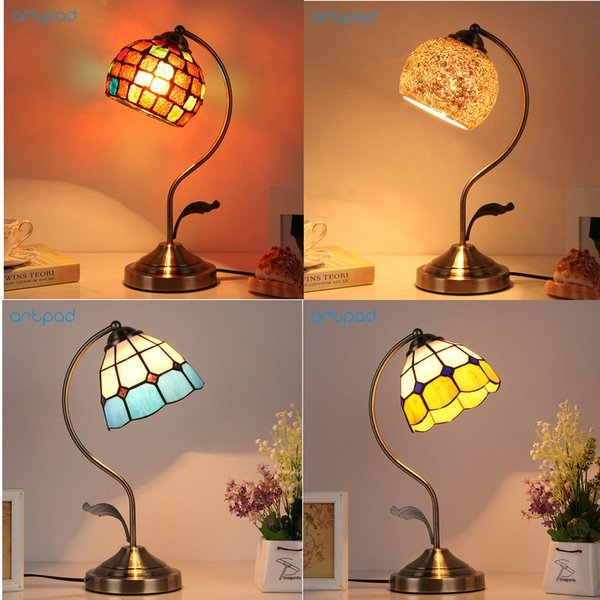 wholesale American Creative Turkish Style Dressing Decorative Table Lights E27 LED Vintage Desk Lamp For Women Bedroom Wedding Bar
