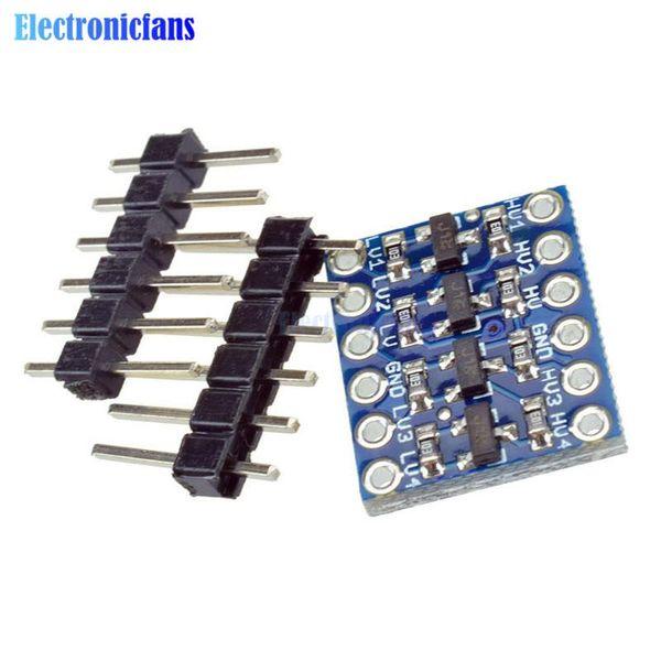 Azul IIC I2C M/ódulo convertidor de Nivel l/ógico bidireccional 5V a 3.3V para Arduino