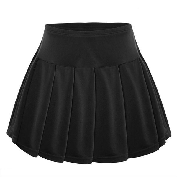New Großhandel Badminton Polyester Shorts Anti-Light Faltenrock Tischtennis Tennis Röcke Tennis Skorts weiß schwarz Ping-Pong Sportwear M-3XL