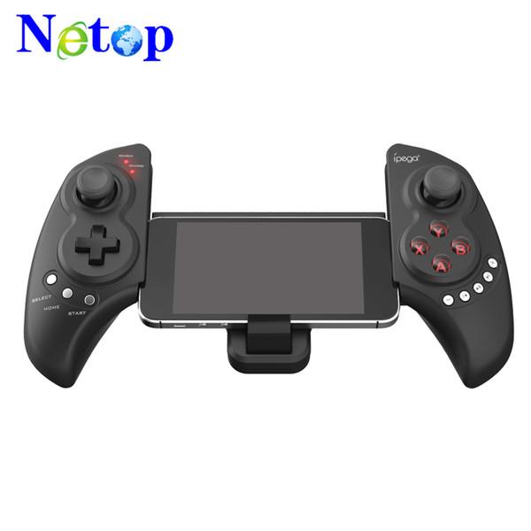 Controlador de juegos Netop PG-9023 Controladores de juegos inalámbricos Bluetooth Gamepad para teléfono celular Android iPad iPhone PC TV Max 10 pulgadas