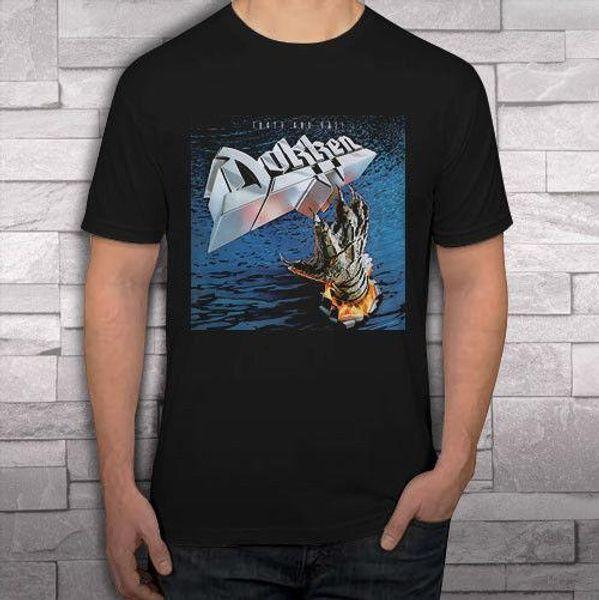 DOKKEN TOOTH AND NAIL Groupe de rock noir tee-shirts homme tee-shirt S-2XL