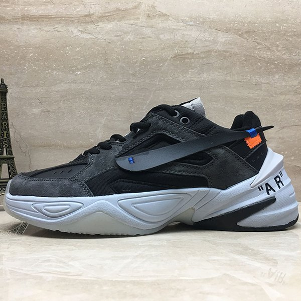 2018 Monarch The M2K Tekno Dad Mens Sports Running Shoes Phantom Women Sneakers Unisex Black Volt Female Fashion Trainers Designer Shoes Best Tennis