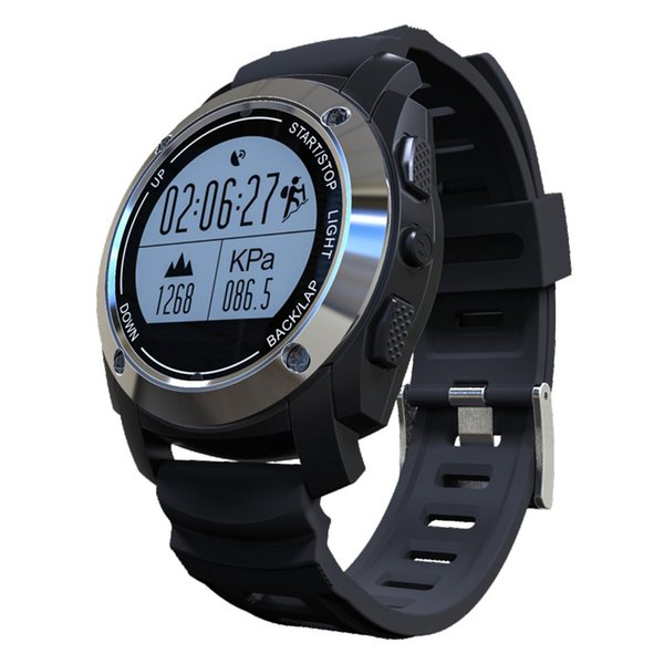 GPS Smart Watch Hombres Pulsera Deportiva S928 Smartwatch Monitor de Ritmo Cardíaco Fitness Tracker Temperatura Presión Alarma Sleep Tracker
