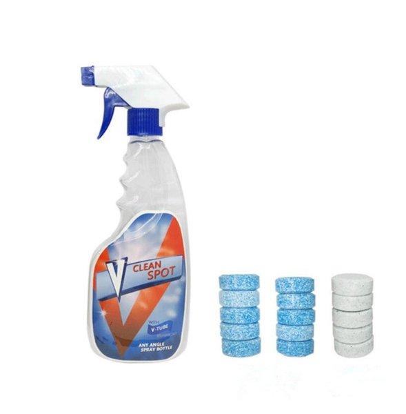 10pcs / lot Spray Cleaner Spot Solide Point De Nettoyage Concentré pour Voiture Cuisine Ménage Solide Pièce De Nettoyage
