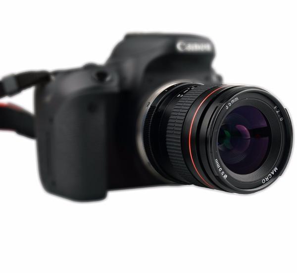 35mm F2.0 Fixo Foco Grande Manual de Abertura Lente Quadro Completo Para Canon 550D 600D 650D 750D 5D 6D 7D Nikon DSLR Câmeras