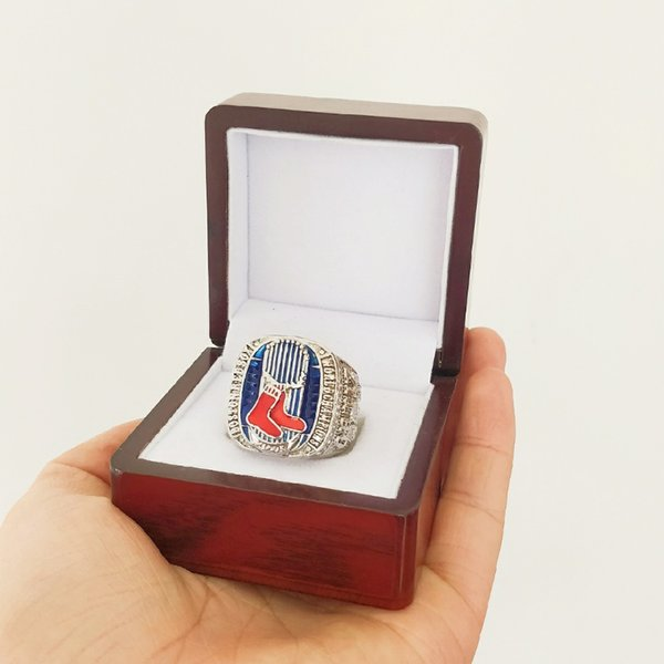 New Arrival Champions ring 2013 Boston Red S ox World Championship Ring Fan Gift high quality wholesale Drop Shipping