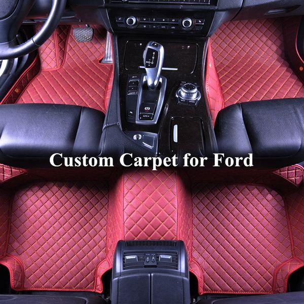 Wholesale Custom Car Floor Mats for ford explorer 2011 2015 fusion 2014 2016 f150 escape fusion Auto Floor Mat Carpets Automatten