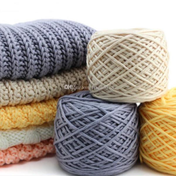 top popular Cotton Silk milk cotton hand knitting yarn laine a tricoter vente en gros milk cotton thick yarn for knitting scarf 2021