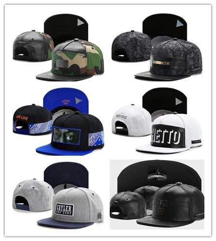 İyi Satış Cayler Sons Snapbacks Kap Hip Hop Ayarlanabilir Şapka Erkekler Kadınlar Caps Caps Caps Caps Mix Sipariş