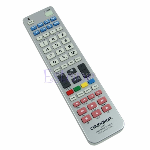 Universal 8 in 1 Remote Control Controller Learn Function For TV CBL VCR SAT DVD R179T Drop Shipping