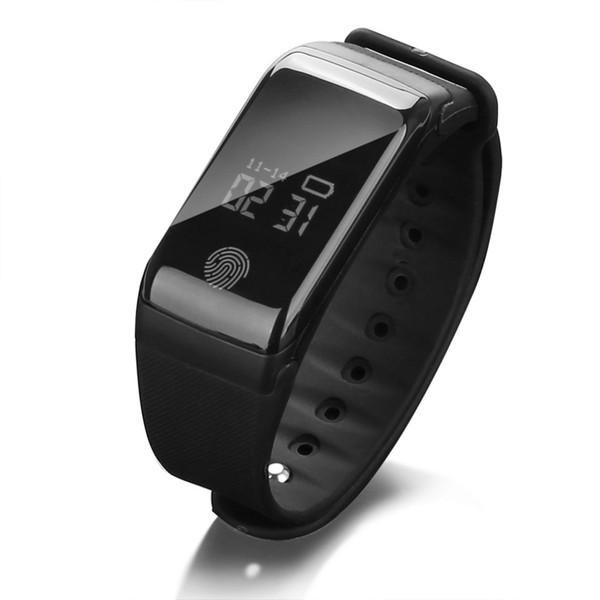 Digital-wasserdichte Sport-Schrittzähler-intelligente Uhr-Herzfrequenz-Schlaf-Blutdruck-Gesundheits-Monitor-kampierende wandernde Radfahren-Uhr