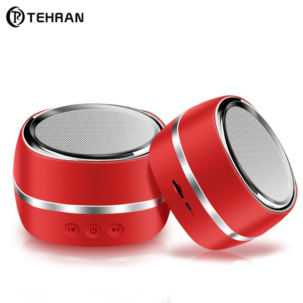New Wireless Bluetooth Speaker Outdoor Sports Smart Mini Speaker Mobile Phone Car Subwoofer Small Sound DHL Free