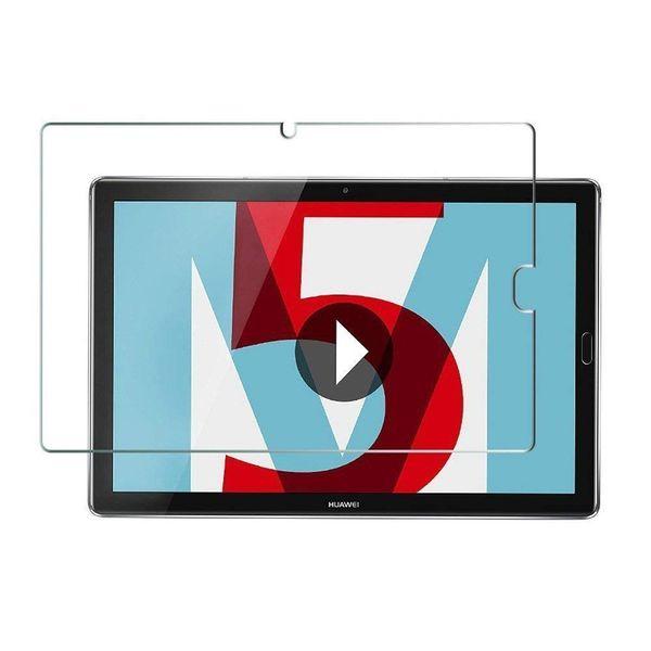 Protector Sceen de vidrio templado ultra HD para Huawei MediaPad M5 8 8,4 M5 10 Pro 10.8